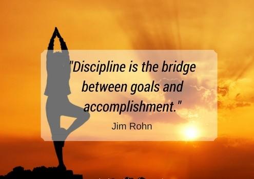 Disciplina l'ingrediente chiave per raggiungere il successocome i prenditore e quello dei tuoi collaboratori.